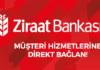 ziraat bankası müşteri temsilcisine direkt bağlanma yolları
